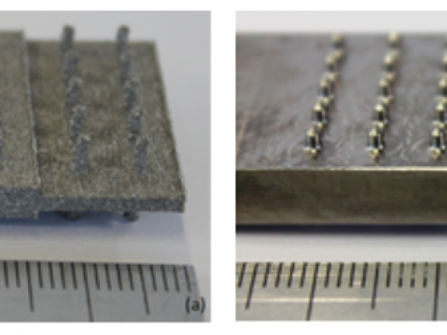 Structural joints using novel embedded inserts