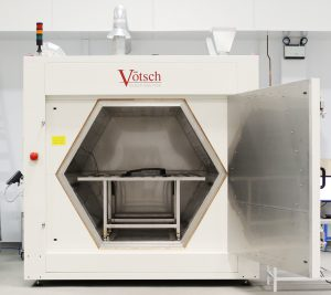 Figure 1: The Vötsch microwave curing oven at AMRC measures 1.8m x 2.8m, and provides heating at 450°C